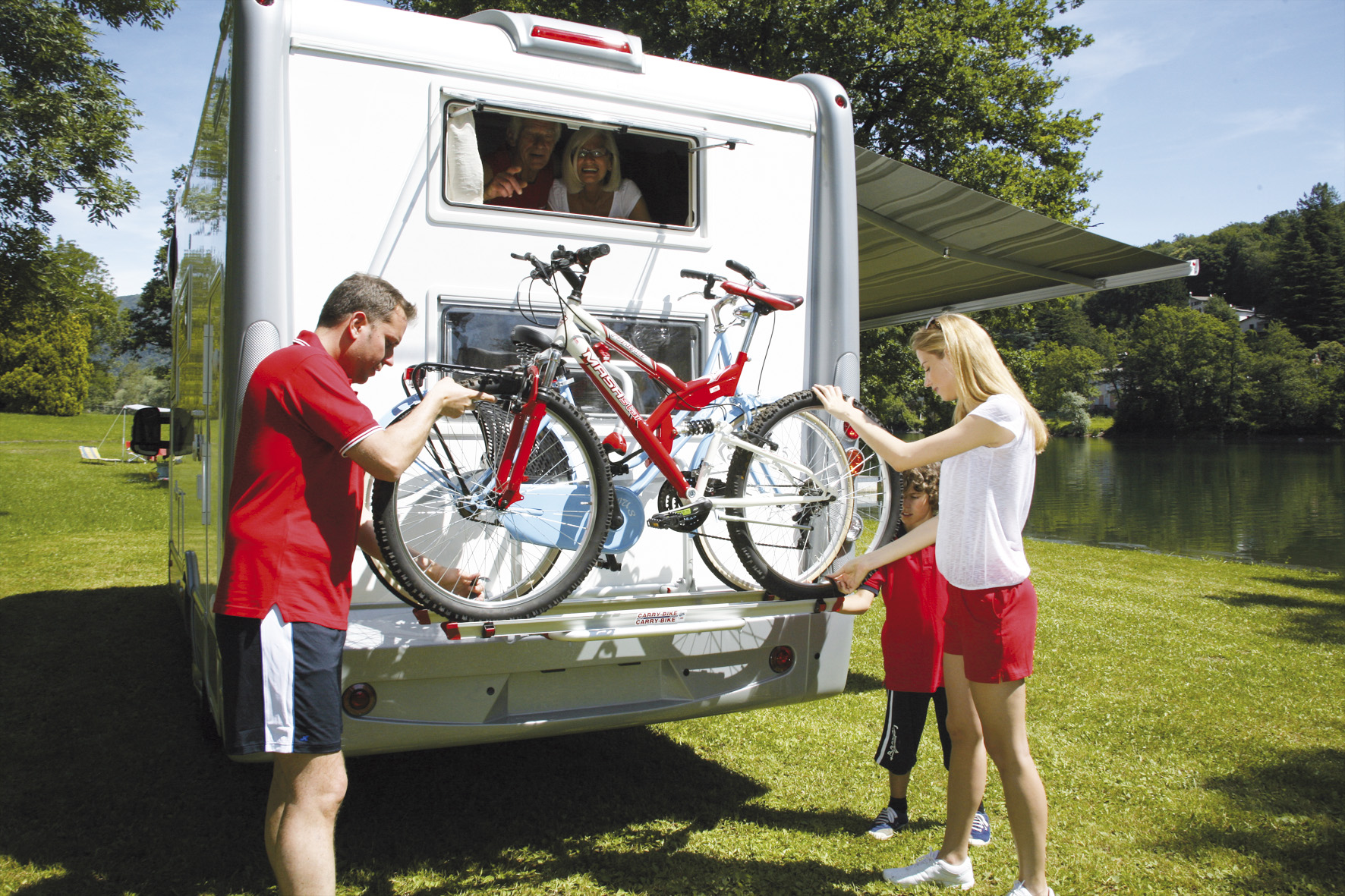 Cycle Carriers and Bike Racks for Caravans and Motorhomes